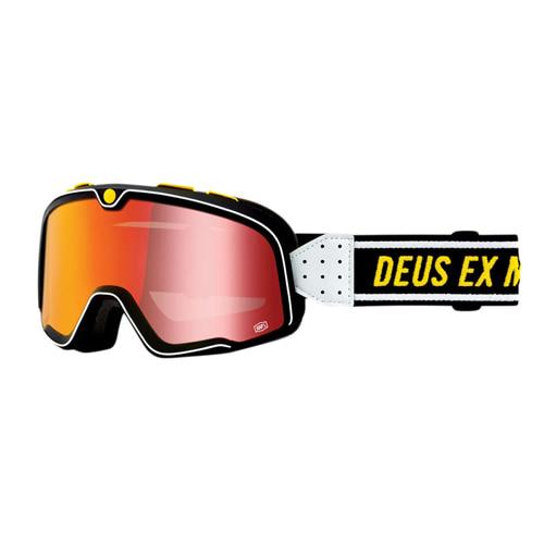 100% 바스토우 고글 데우스 DEUS 레드 미러 렌즈