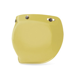 BELL 3-SNAP BUBBLE SHIELD HI-DEF YELLOW