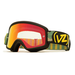 VON ZIPPER BEEFY MX BLACK CAMO/CHROME ORANGE