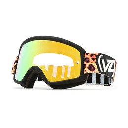 VON ZIPPER BEEFY MX WILDCAT BLACK/CHROME GOLD