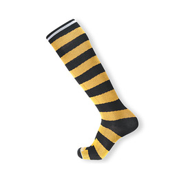 HOLYFREEDOM SOCKS LONG FLASH YELLOW