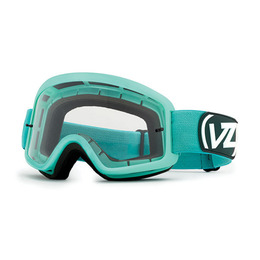 VON ZIPPER BEEFY MX TEAL SATIN/CLEAR