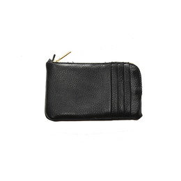 KJøRE PROJECT 쿄레 프로젝트 PHONE/CARDS CLUTCH WALLET DEERSKIN-BLACK [LIMITED]