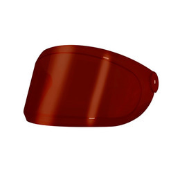 HEROINE RACER VISOR RED SMOKE