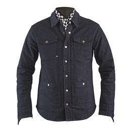 HELSTONS RONY COTTON DENIM Shirt