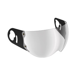 ROOF BOXER V8 VISOR SILVER FLASH