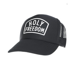 HOLYFREEDOM TRUCKER CAP ARNEY BLACK