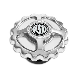RSD GEAR DRIVE GAS CAP CHROME