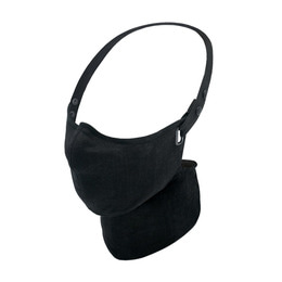 RARE BIRD LONDON ALL BLACK LINEN FACE MASK