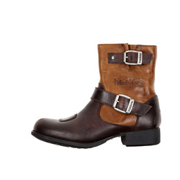 HELSTONS WOMEN BOOTS GRACE MARRON-TAN