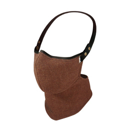 RARE BIRD LONDON COPPER BROWN TWEED FACE MASK [WINTER]