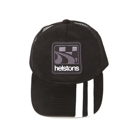HELSTONS TRUCKER CAP SHELBY BLACK