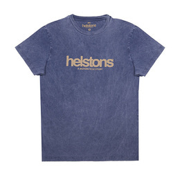 HELSTONS T-SHIRT CORPORATE BLUE 코퍼레이트 블루