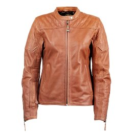 RSD WOMEN LEATHER JACKET TRINITY BROWN