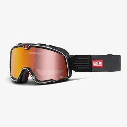 100% BARSTOW GASBY RED MIRROR LENS