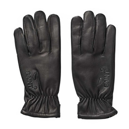 SA1NT LEATHER GLOVE WITH SPECTRA LINING BLACK