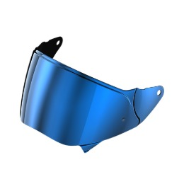 ROOF RO200 VISOR PINLOCK READY IRIDIUM BLUE